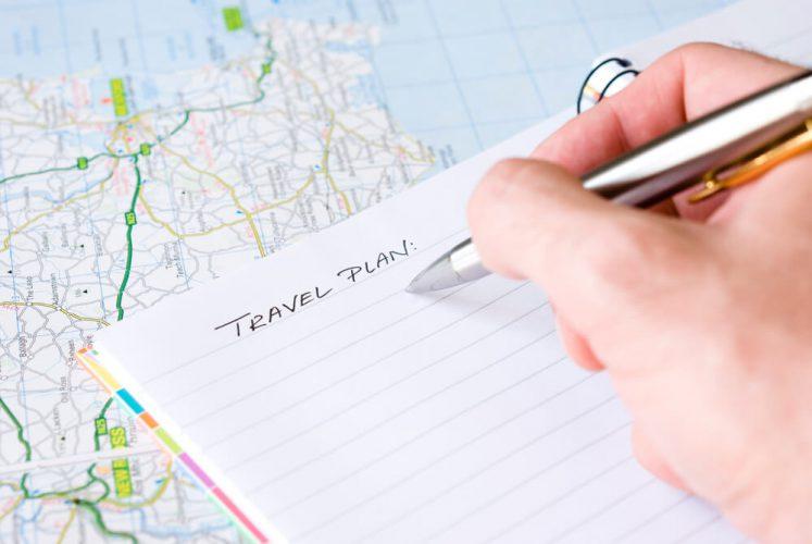 Como planejar um roteiro de viagem?