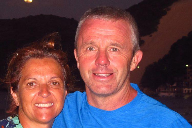 Jeff e Sylvaine Rouilleaux: retorno da viagem de buggy de Fortaleza à Natal